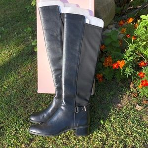 NEW: Tall Knee-High Black Boots